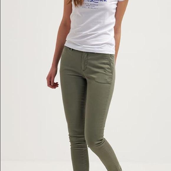 Chino Brooke Skinny Pants Lauren Ralph rdexoCB